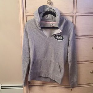 VS Pink JETS Hoodie. Excellent condition